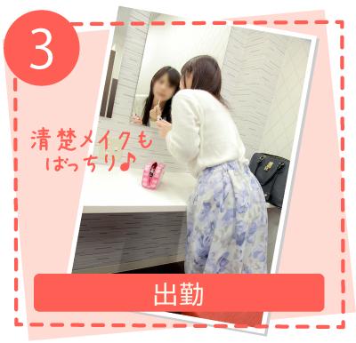 【3】出勤